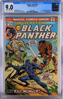 Marvel Comics Jungle Action #6 CGC 9.0
