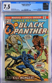 Marvel Comics Jungle Action #6 CGC 7.5
