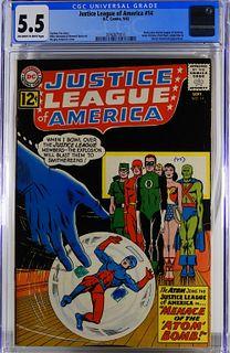 DC Comics Justice League of America #14 CGC 5.5