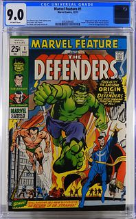 Marvel Comics Marvel Feature #1 CGC 9.0