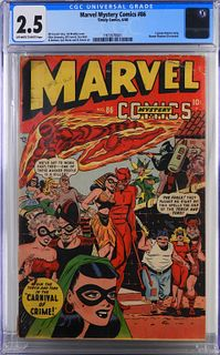 Timely Comics Marvel Mystery Comics #86 CGC 2.5