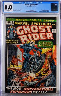 Marvel Comics Marvel Spotlight #5 CGC 8.0
