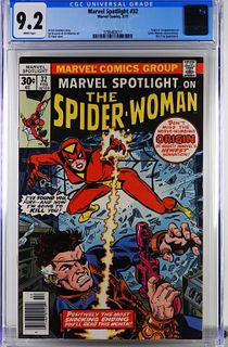 Marvel Comics Marvel Spotlight #32 CGC 9.2