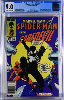 Marvel Comics Marvel Team-Up #141 CGC 9.0