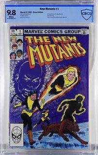 Marvel Comics New Mutants #1 CBCS 9.8