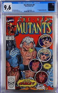 Marvel Comics New Mutants #87 CGC 9.6
