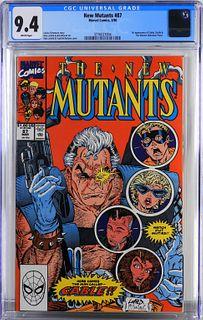 Marvel Comics New Mutants #87 CGC 9.4