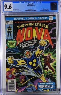 Marvel Comics Nova #1 CGC 9.6