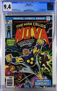 Marvel Comics Nova #1 CGC 9.4