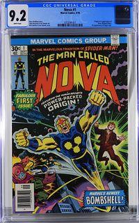 Marvel Comics Nova #1 CGC 9.2