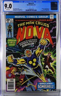Marvel Comics Nova #1 CGC 9.0