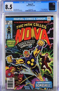Marvel Comics Nova #1 CGC 8.5