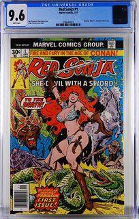 Marvel Comics Red Sonja #1 CGC 9.6
