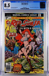 Marvel Comics Red Sonja #1 CGC 8.5