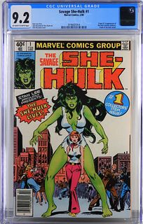 Marvel Comics Savage She-Hulk #1 CGC 9.2