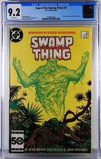 DC Comics Saga of the Swamp Thing #37 CGC 9.2