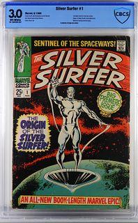 Marvel Comics Silver Surfer #1 CBCS 3.0