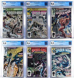 6 Marvel Comics Spider-Man Kraven's Last Hunt CGC