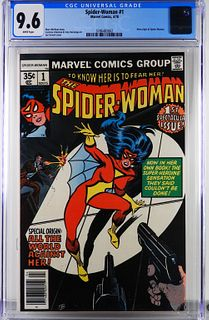 Marvel Comics Spider-Woman #1 CGC 9.6