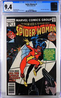 Marvel Comics Spider-Woman #1 CGC 9.4