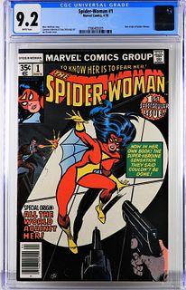 Marvel Comics Spider-Woman #1 CGC 9.2