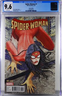 Marvel Comics Spider-Woman #1 Manara Var. CGC 9.6