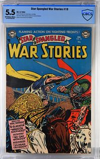 DC Comics Star Spangled War Stories #18 CBCS 5.5