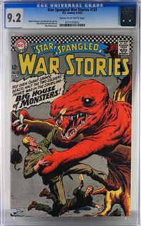 DC Comics Star Spangled War Stories #132 CGC 9.2