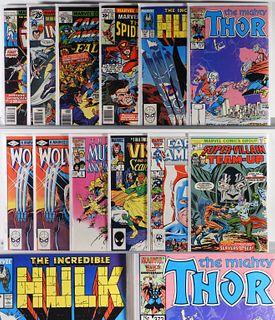 12PC Marvel Comics Bronze Modern Key Issue Group