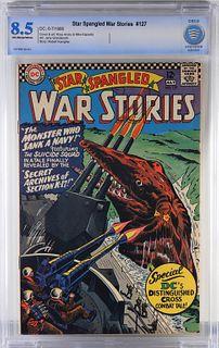 DC Comics Star Spangled War Stories #127 CBCS 8.5