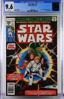 Marvel Comics Star Wars #1 CGC 9.6