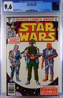 Marvel Comics Star Wars #42 CGC 9.6