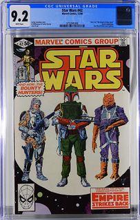 Marvel Comics Star Wars #42 CGC 9.2
