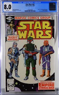 Marvel Comics Star Wars #42 CGC 8.0