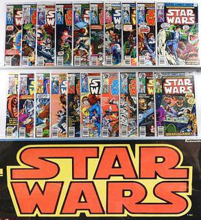Marvel Comics Star Wars #1-#107 & Annuals Comp Run