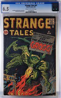 Marvel Comics Strange Tales #87 CGC 6.5