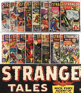 37PC Marvel Comics Strange Tales #103-#168 Group