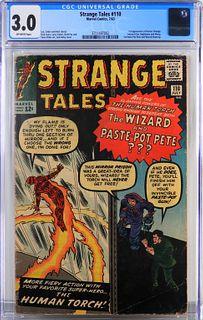 Marvel Comics Strange Tales #110 CGC 3.0