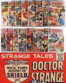 25PC Marvel Comics Strange Tales #117-#164