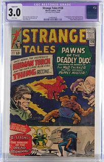 Marvel Comics Strange Tales #126 CGC 3.0