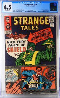 Marvel Comics Strange Tales #135 CGC 4.5
