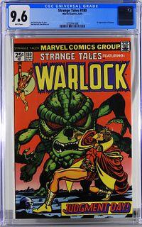 Marvel Comics Strange Tales #180 CGC 9.6
