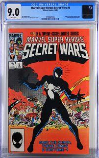 Marvel Super Heroes Secret Wars #8 CGC 9.0