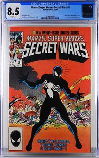 Marvel Super Heroes Secret Wars #8 CGC 8.5