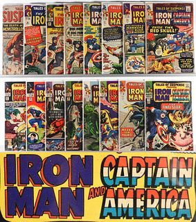 41PC Atlas Marvel Comics Tales of Suspense #25-#99