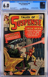 Marvel Comics Tales of Suspense #50 CGC 6.0