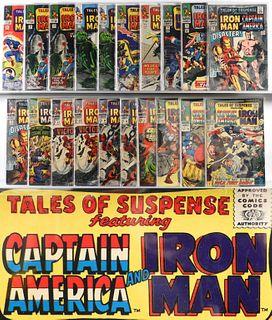 20PC Marvel Comics Tales of Suspense #68-#92