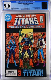 DC Comics Tales of the Teen Titans #44 CGC 9.6