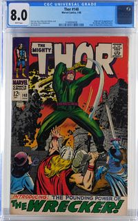 Marvel Comics Thor #148 CGC 8.0