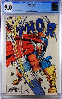 Marvel Comics Thor #337 CGC 9.0